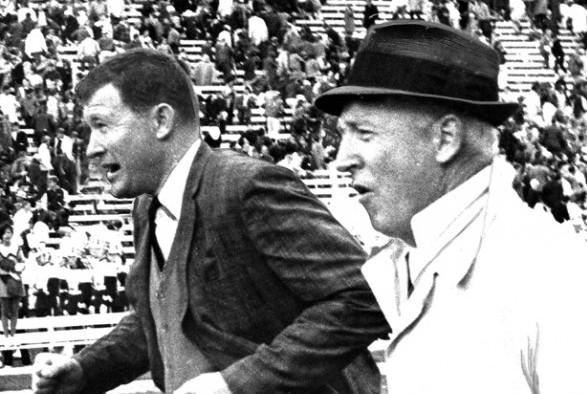 Jim Owens, John McKay 10-22-1967 001